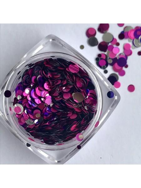 Конфетти для дизайна ногтей mix11
