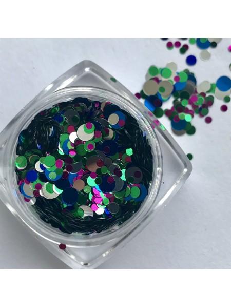 Конфетти для дизайна ногтей mix13
