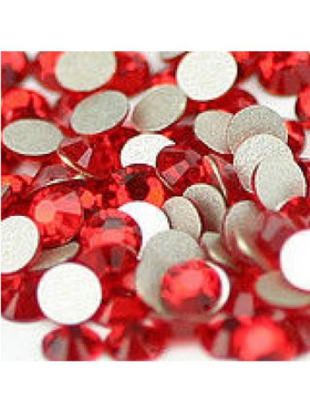 Камни Swarovski  SS 3 Red  (100 шт.)