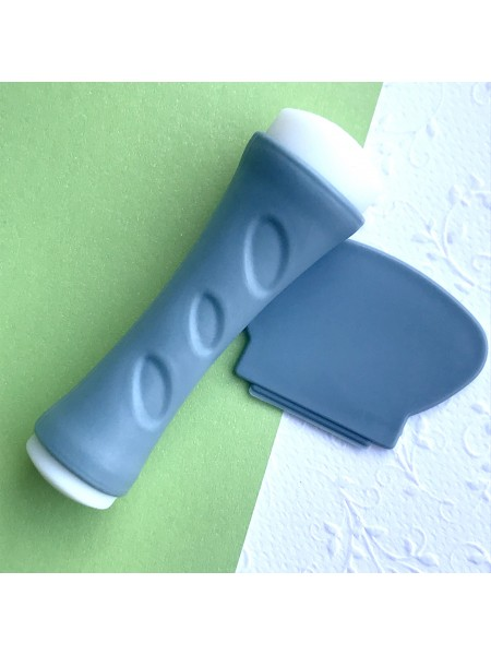 Штамп для стемпинга двухсторонний серый (без крышек)