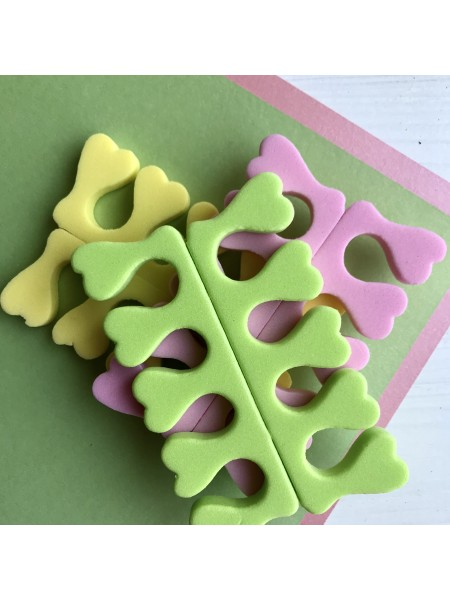 Разделители для пальцев, набор из 3-х шт.