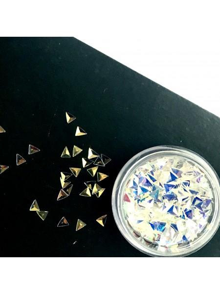 Декор 3-Д треугольники