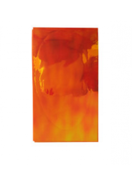 """Фольга """"Битое стекло"""" оранжевое ( отлив зеленый, желтый)"""
