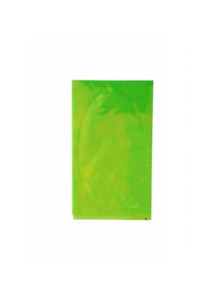 """Фольга """"Битое стекло"""" зеленое (отлив синий, желтый)"""