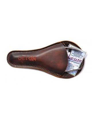 OLTON Щипчики заусеничные  XL (16-23 мм) + чехол (кожа)