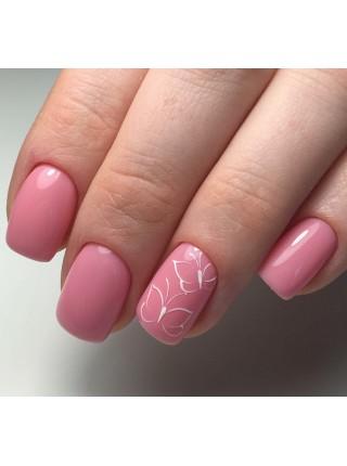 Гель лак Oxxi №011 розово-коралловый, эмаль, 8 мл.