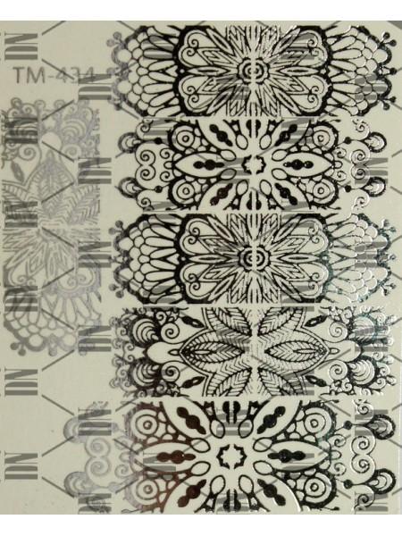 Слайдер DreamNails фольгированный TM-434 (золото)