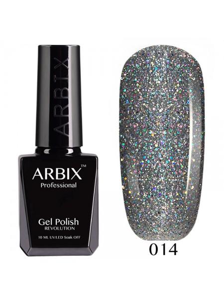 Гель лак Arbix №014, Алмазное сияние