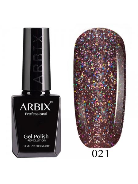 Гель лак Arbix №021, Мерцание