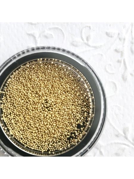 Бульонка металлическая мелкая Gold