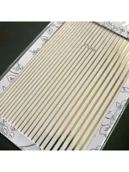 Гибкая лента для дизайна золото