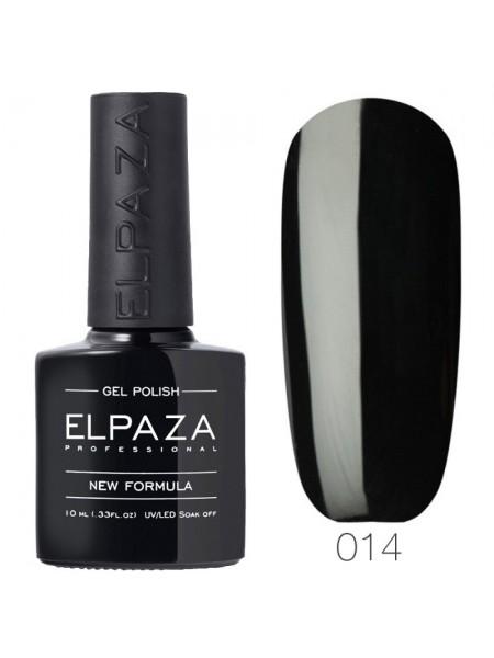 Гель лак Elpaza №014, истинно чёрный