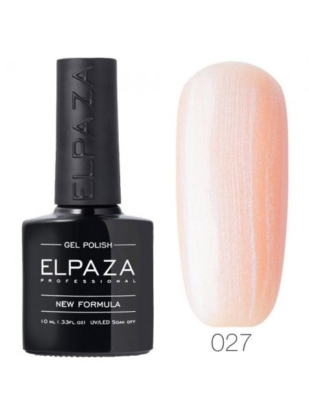 Гель лак Elpaza №027, розовая жемчужина