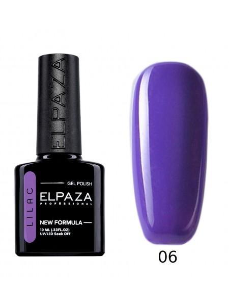 Гель лак Elpaza Lilac №06, лавандовое поле