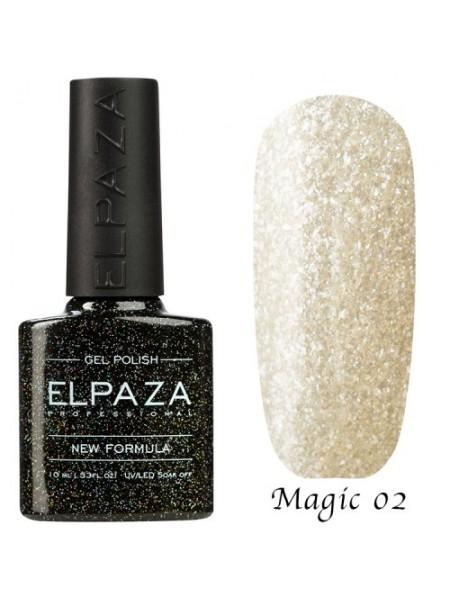 Гель лак Elpaza Magic Glitter №02, Лапландия