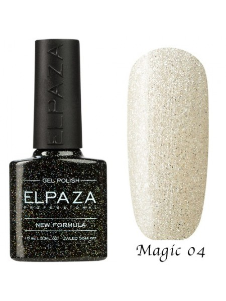 Гель лак Elpaza Magic Glitter №04, полярная звезда