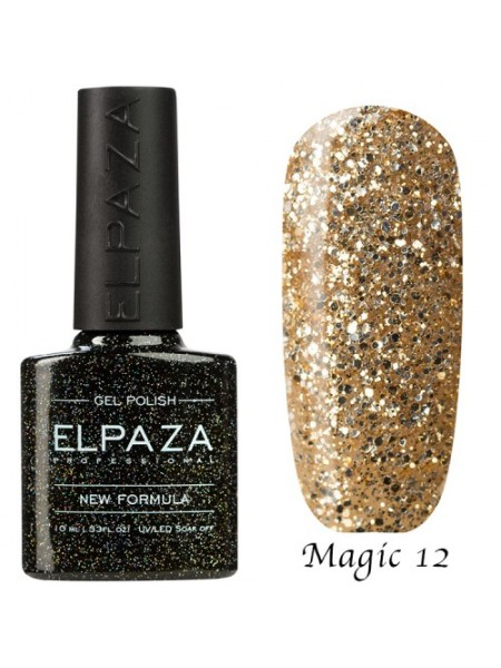 Гель лак Elpaza Magic Glitter №12, мечта принцессы