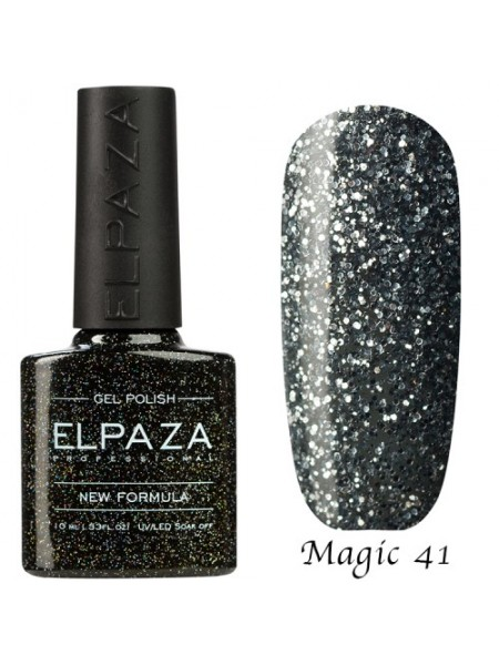 Гель лак Elpaza Magic Glitter №41, эксклюзив