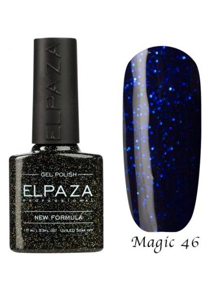 Гель лак Elpaza Magic Glitter №46, танзанит