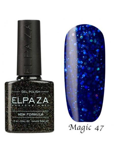 Гель лак Elpaza Magic Glitter №47, морской круиз