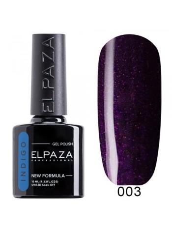 Гель лак Elpaza Indigo №03, пурпурный