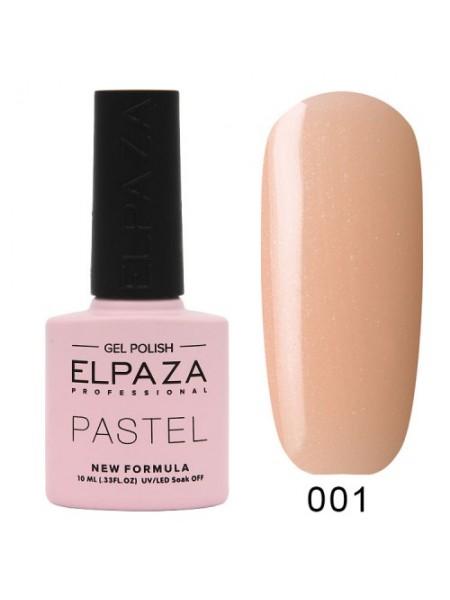 Гель лак Elpaza Pastel №01, симфония