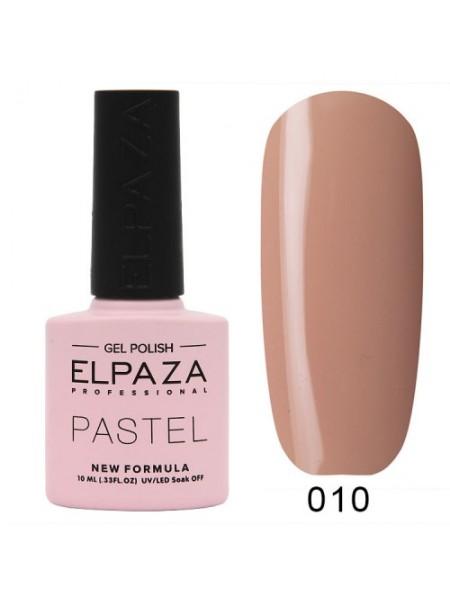 Гель лак Elpaza Pastel №10, нюдовый