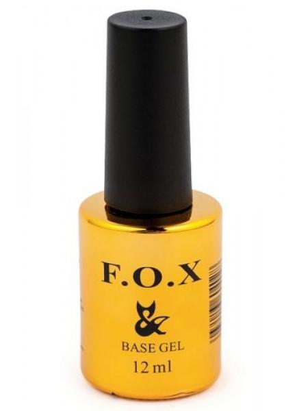 Базовое покрытие для ногтей F.O.X Base Grid, 12 ml
