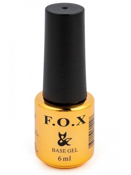 Базовое покрытие для ногтей F.O.X Base Grid, 6 ml
