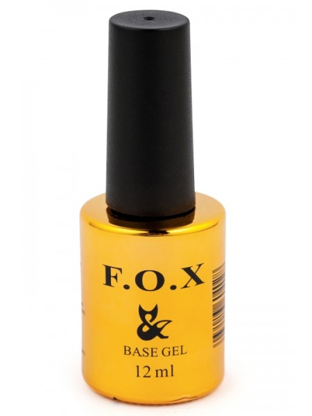 Базовое покрытие для ногтей F.O.X Base Strong, 12 ml