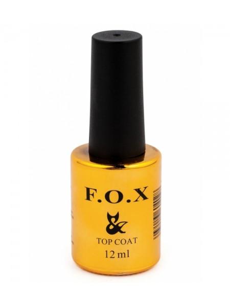 F.O.X Топовое покрытие для ногтей  Rubber Top, 12 ml