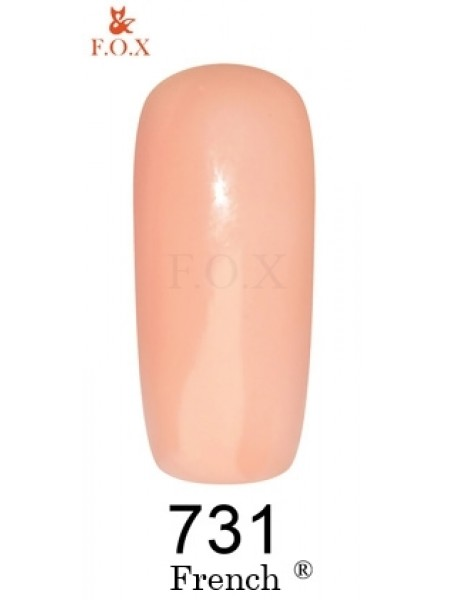 Гель лак F.O.X French 6 мл № 731 бежево-розовый