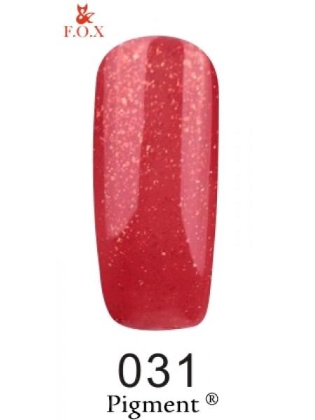 Гель лак F.O.X Pigment 12 мл № 031