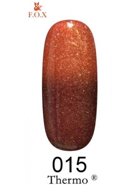 Гель лак F.O.X Thermo 6 мл № 015