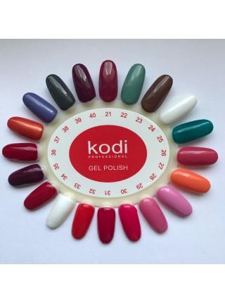 Гель лак Kodi № 037 (рыжий с перламутром) 8 мл.