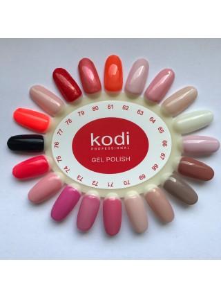 Гель лак Kodi № 061 (оранжевый, эмаль) 8 мл.