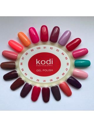 Гель лак Kodi № 085 (насыщенно розовый, эмаль) 8 мл.