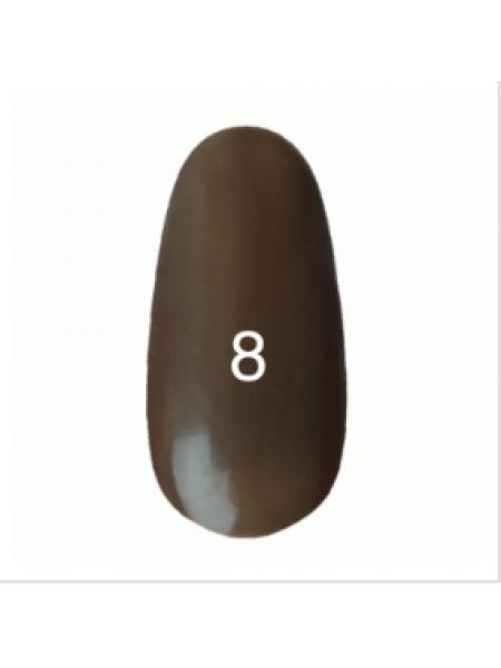 Гель лак Kodi № 008 (пепельно ореховый) 8 мл.