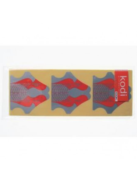 Формы красные универсальные Kodi (100 шт.)