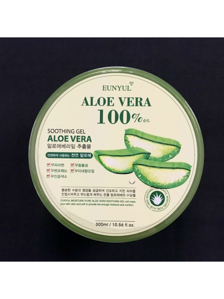 Универсальный гель с алоэ вера EUNYUL Aloe Soothing Gel 100 %, 300 мл