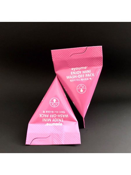Матирующая маска для лица AYOUME ENJOY MINI WASH-OFF PACK, 3 г