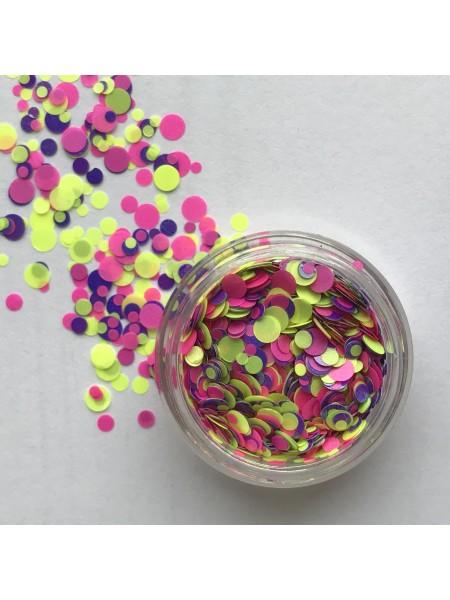Конфетти для дизайна ногтей mix02
