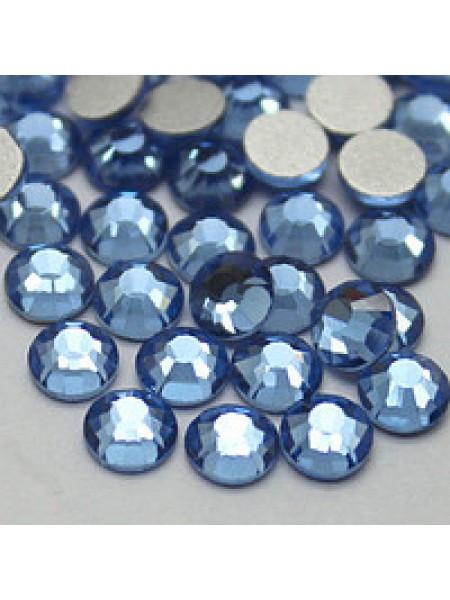 Камни Swarovski  SS 3 LightSaphire (100 шт.)