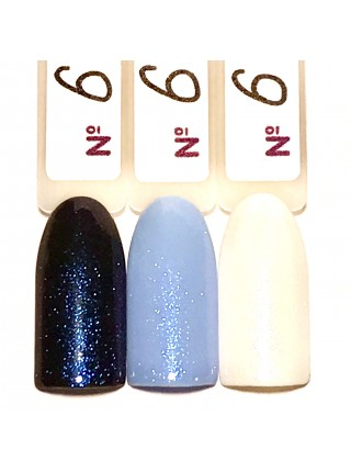 VOG   Top Tiffany №6, 10 ml (синяя блестка)