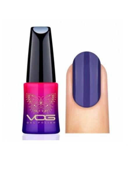 Гель лак VOG №019 серо-фиолетовый, 12 мл.