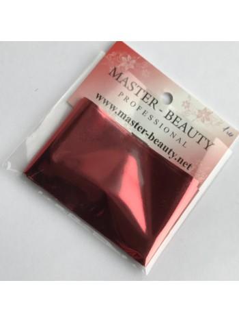 Фольга для литья № 09 темно-красная