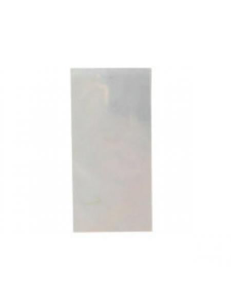 """Фольга  """"Битое стекло"""" прозрачное (отлив оранжевый, голубой)"""