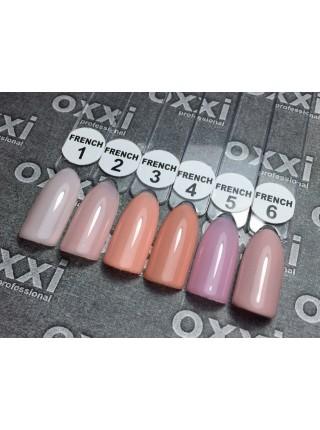 Oxxi гель лак French №03 розово-персиковый
