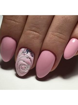 Гель лак Oxxi №010 бледный розовый, эмаль, 10 мл.