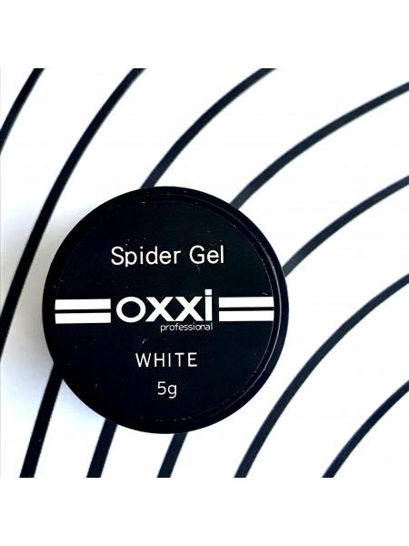 OXXI гель-паутинка WHITE(белый) 5 мл.